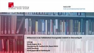 Thumbnail - Virtuelle Bibliotheksführung: Teilbibliothek für Finnougristik und Uralistik