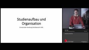 Vorschaubild - Studienaufbau und Organisation - Fachbereich VWL