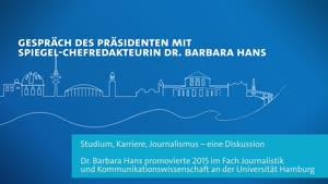 Vorschaubild - Erstsemesterbegrüßung 2020 – Gespräch mit Barbara Hans