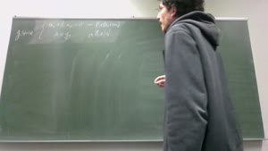Thumbnail - Exercise class: Partial Differential Equations, Lecture 3, Part 3