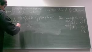 Thumbnail - Exercise class: Partial Differential Equations, Lecture 3, Part 4
