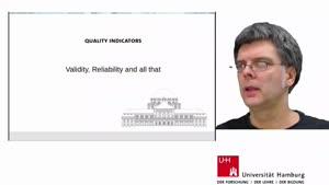 Vorschaubild - Reliability & Validity