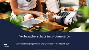 Miniaturansicht - Vorlesung Werbe- und E-Commerce-Recht