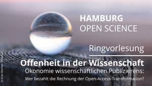Thumbnail - Ökonomie wissenschaftlichen Publizierens: Wer bezahlt die Rechnung der Open-Access-Transformation?