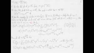 Thumbnail - Exercise class: Partial Differential Equations, Lecture 6, Part 3