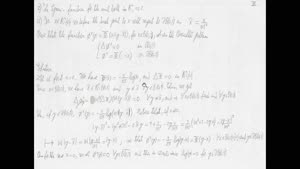 Thumbnail - Exercise class: Partial Differential Equations, Lecture 6, Part 5