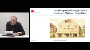 Miniaturansicht - Hamburgische Theatergeschichte von den Anfängen bis 1800: Probleme – Mythen – Perspektiven
