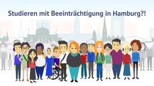 Thumbnail - Studieren mit Beeinträchtigung in Hamburg?!