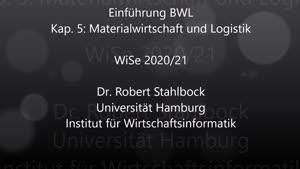 Miniaturansicht - EBWL - 5- Materialwirtschaft und Logistik