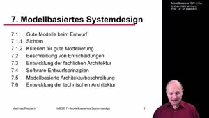 Miniaturansicht - 7.5 Modellbasierte Architekturbeschreibung