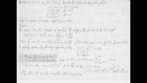 Thumbnail - Exercise class: Partial Differential Equations, Lecture 7, Part 3