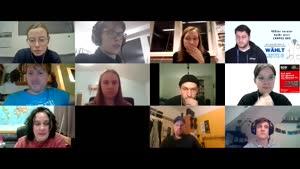 Thumbnail - Digitale Listenvorstellung zur Wahl des Studierendenparlaments 2020/21