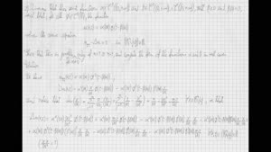 Thumbnail - Exercise class: Partial Differential Equations, Lecture 9, Part 2