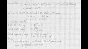 Thumbnail - Exercise class: Partial Differential Equations, Lecture 9, Part 4