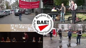Vorschaubild - Liste 1: Bündnis für Aufklärung und Emanzipation! (BAE!) | Listenvorstellung Wahl studentische Vertreter*innen Akademischer Senat UHH