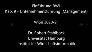 Miniaturansicht - EBWL - 9 - Unternehmensführung (Management)