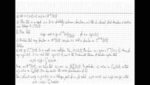 Thumbnail - Exercise class: Partial Differential Equations, Lecture 12, Part 3