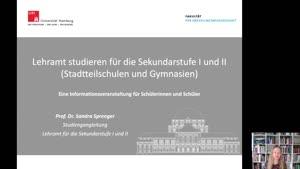 Thumbnail - Lehramt studieren für die Sekundarstufe I und II (Stadtteilschulen und Gymnasien)