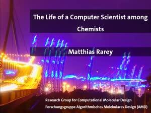Thumbnail - Informatikkolloquium WS20/21 - Matthias Rarey