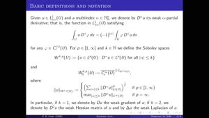 Thumbnail - Exercise class: Partial Differential Equations, Lecture 13, Part 1