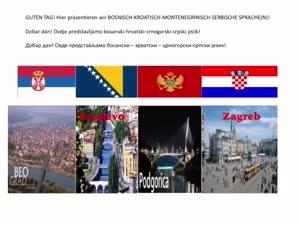 Thumbnail - Bosnisch / Kroatisch / Serbisch an der Uni Hamburg