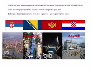 Miniaturansicht - Bosnisch / Kroatisch / Serbisch an der Uni Hamburg