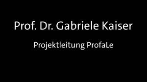 Thumbnail - Professionelles Lehrerhandeln zur Förderung fachlichen Lernens unter sich verändernden gesellschaftlichen Bedingungen (ProfaLe)
