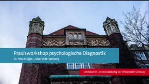 Thumbnail - Praxisworkshop Psychologische Diagnostik (Lehrlabor-Projektvorstellung)