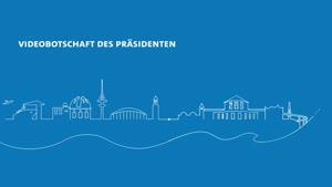Miniaturansicht - Videoansprache des Präsidenten