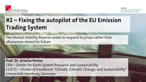 Miniaturansicht - Fixing the autopilot of the EU Emission Trading System