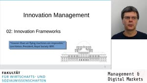 Vorschaubild - Session 02: Innovation Frameworks (1)