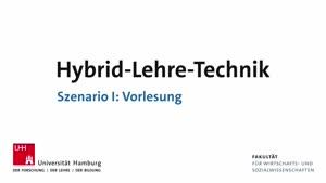 Thumbnail - Hybrid-Lehre-Technik I: Vorlesung