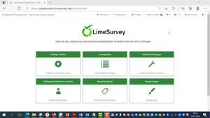Miniaturansicht - LimeSurvey: Einstellungsmöglichkeiten bei der Fragenerstellung
