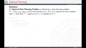 Thumbnail - Lecture #8.4 Optimal Planning