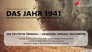 Thumbnail - Der deutsche Überfall – Ursachen, Verlauf, Deutungen