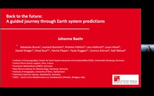 Miniaturansicht - Back to the future: a guided journey through Earth system predictions