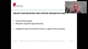 Thumbnail - Unterrichtskonzepte und cognitive apprenticeship