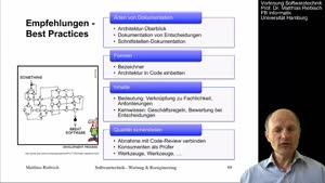 Thumbnail - 4.4.2 Empfehlungen und Best Practices Software-Dokumentation