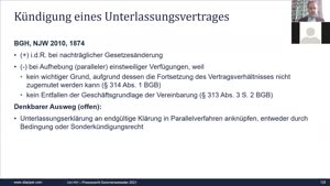 Miniaturansicht - Vorlesung Presserecht Sommersemester 2021