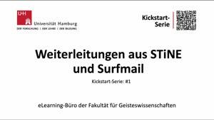 Miniaturansicht - Tutorial: Weiterleitungen aus STiNE und Surfmail
