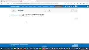 Miniaturansicht - OpenOlat: Portfolioaufgabe