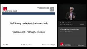Miniaturansicht - 2. Sitzung: Politische Theorie