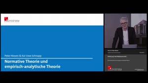 Miniaturansicht - 4. Sitzung: Normative und Positive Theorie