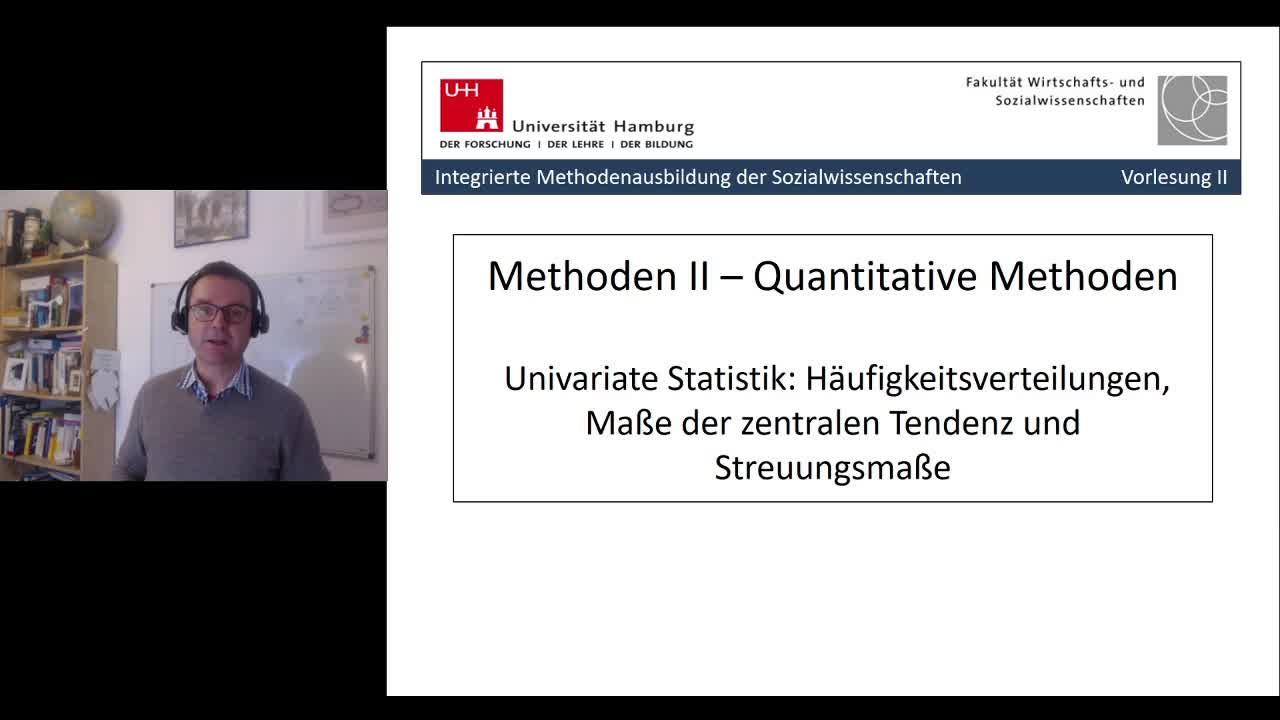 Thumbnail - 2. Sitzung: Univariate Statistik - Teil 1