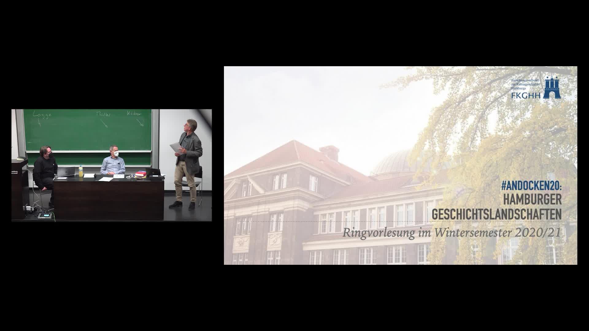 Miniaturansicht - Auftaktveranstaltung: Erinnerungskultur und Geschichtslandschaft in Hamburg. Perspektiven der erinnerungskulturellen Diskussion