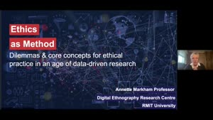 Miniaturansicht - Ethics as Method: Reviewing dilemmas and choices in an age of data and automated decision making