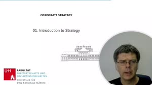 Thumbnail - 01: Introduction To Strategy