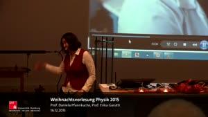Vorschaubild - Weihnachtsvorlesung Physik 2015
