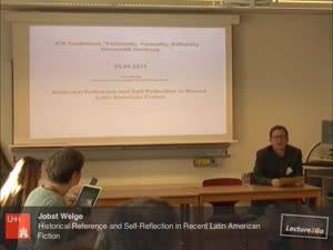 Miniaturansicht - Historical Reference and Self-Reflection in Recent Latin American Fiction