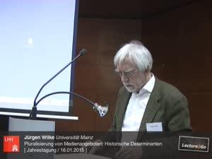 Miniaturansicht - Pluralisierung von Medienangeboten: Historische Determinanten